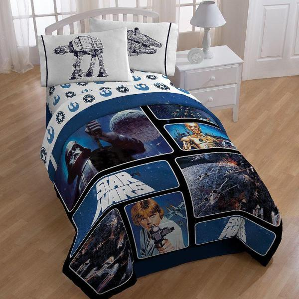 Star Wars Reversible Comforter - Twin Kohl' Epic