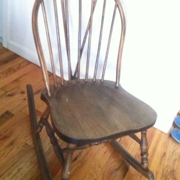 antique wooden rocking chairs diy 2x4 chair shop on wanelo