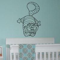 Alice In Wonderland Wall Decal Vinyl from FabWallDecals on ...