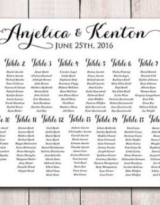 Wedding seating chart printable sign modern calligraphy reception also template download from paintthedaydesigns rh wanelo