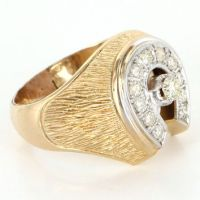 Best 14 Karat Gold Mens Rings Products on Wanelo