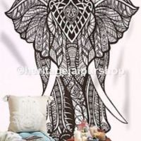 Elephant Tapestries Psychedelic wall from ...