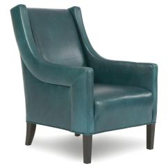 Accent Chair Teal Best Recliner Reviews Charlotte Dark From One Kings Lane