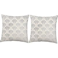 Best Metallic Silver Pillows Products on Wanelo