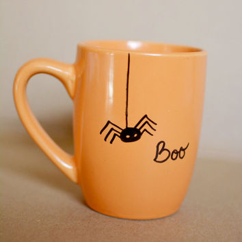 Halloween BOOSpider Coffee Mug from SouthernHazeGifts on Etsy
