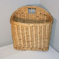 Vintage Hanging Wicker Basket, Wall from seacoastvintage ...