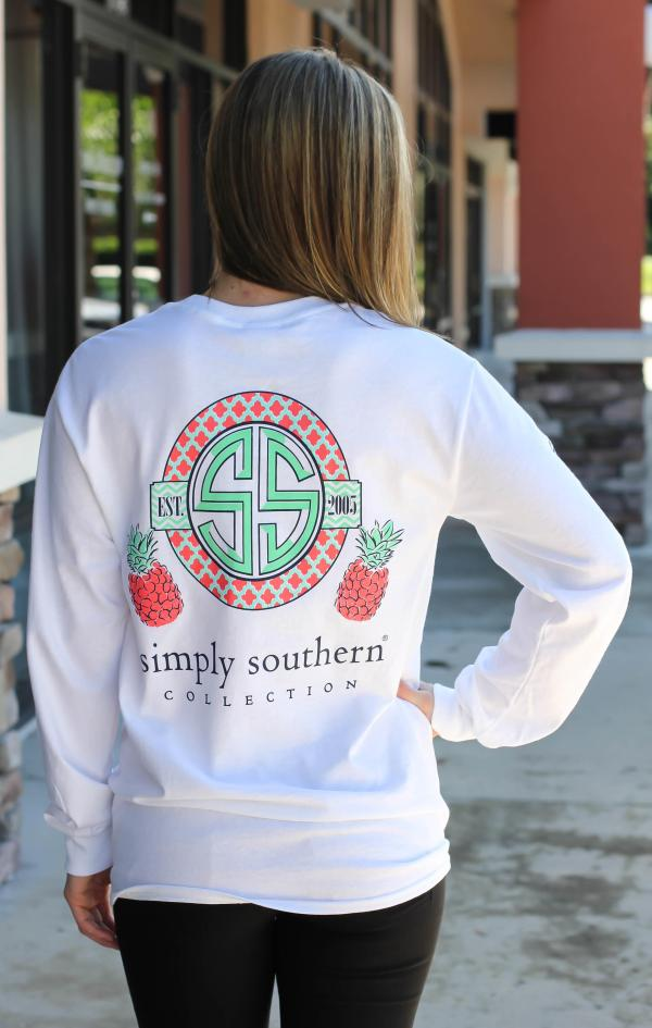 Simply Southern Long Sleeve - Pineapple Cut Above
