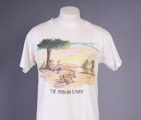 80s The FAR SIDE TSHIRT  1980s The from ToughLuckVintage on