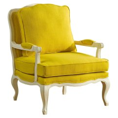 Accent Chair Yellow Office Chairs Las Vegas Agatha And From One Kings Lane