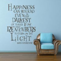 Shop Harry Potter Wall Decals Quotes on Wanelo