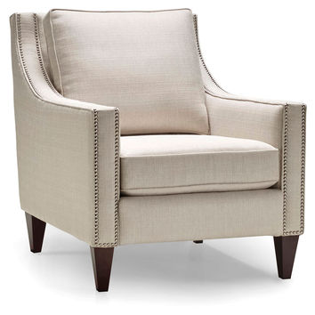 Shop Cream Accent Chair on Wanelo