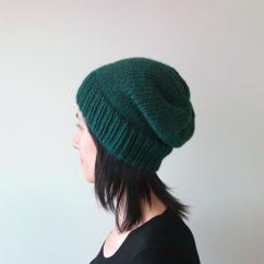Help Me Accessorize My Living Room Decorating Small Apartment Hand Knitted Chunky Hat In Dark Green - From Naryaboutique On