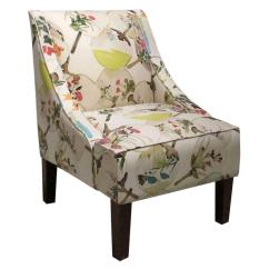 Floral Arm Chair Comfortable Store Fletcher Swoop Exotic From One Kings Lane