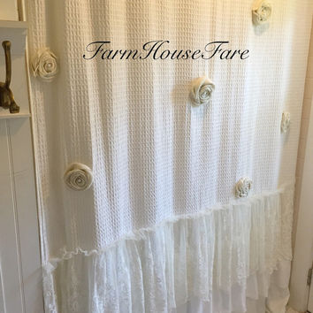 Best Ruffle Shower Curtain Products On Wanelo