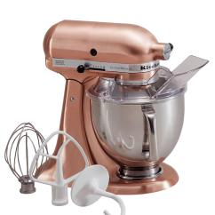 Copper Kitchen Aid Mixer Plastic Containers Kitchenaid Ksm152ps Artisan 5 Qt Custom From Macys Home