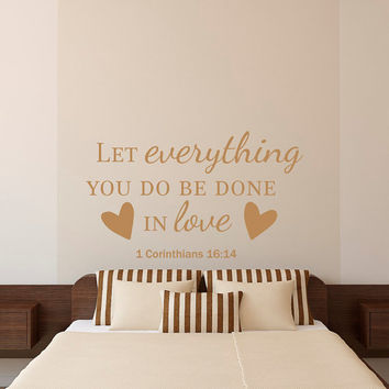 bible verse quotes wall decal let from fabwalldecals on etsy