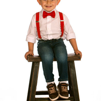 Shop Toddler Bow Tie Outfits on Wanelo