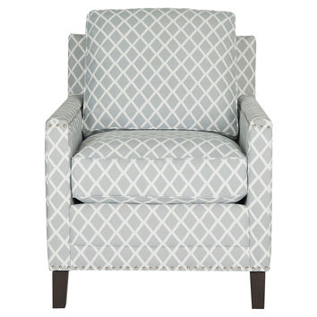 accent chair gray exercise desk shop and white on wanelo deema club occasional chairs