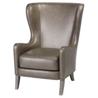 Best Gray Wingback Chair Products on Wanelo