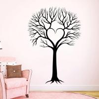 Wall Decal Tree Silhouette Decals Natural from ...