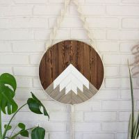 Best Wood Round Wall Art Products on Wanelo
