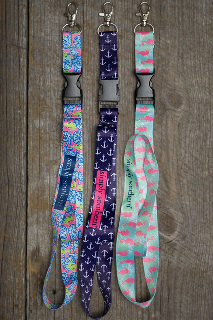 Lanyard Simply Southern From Siloe Boutique Lanyards