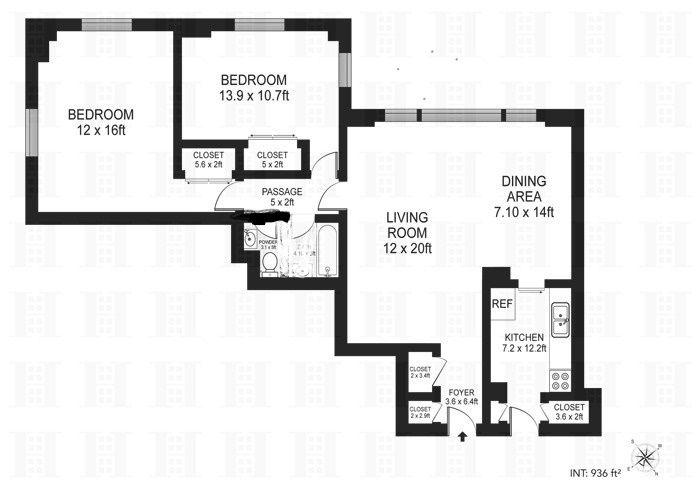 StreetEasy: 7 Fordham Hill Oval In University Heights, #2B