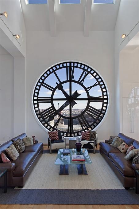 Clock Tower At 1 Main Street In Dumbo