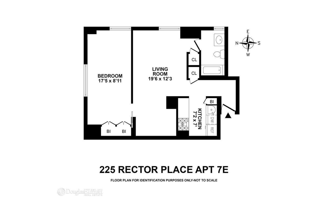 StreetEasy: 225 Rector Place in Battery Park City, #7E