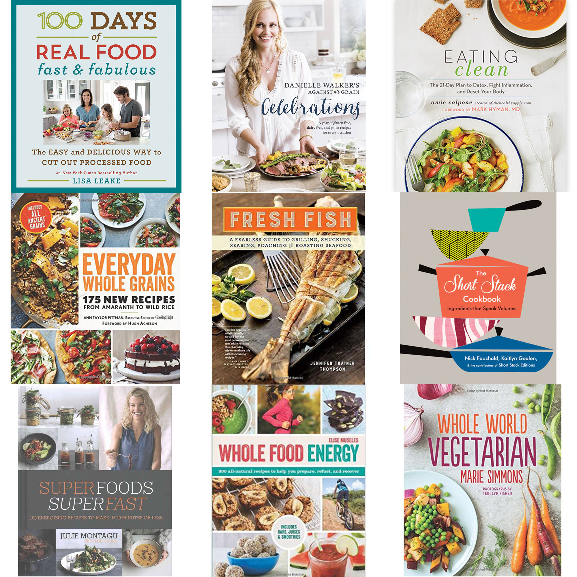 the best healthy cookbooks