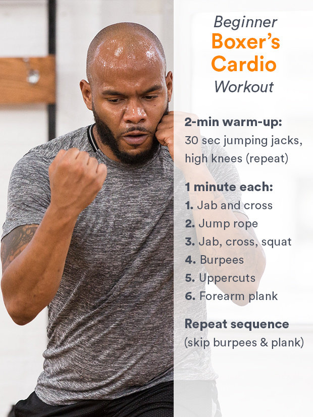 Boxers-Cardio-Workout-Pin 3 Boxing Workouts to Get Fit and Strong Health Tips