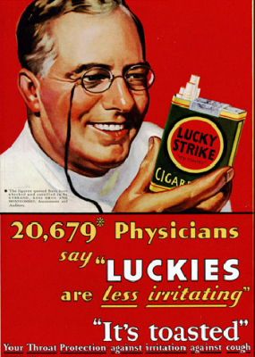 Image result for old tobacco ad promoting health