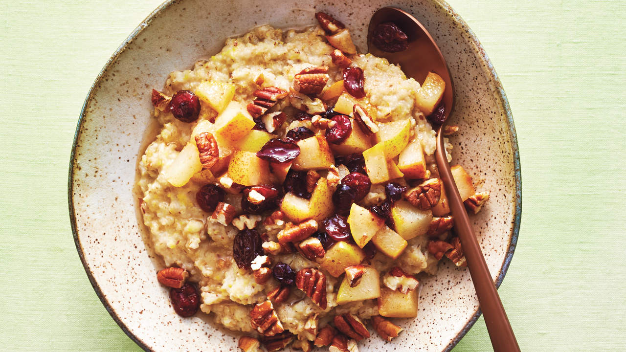 8Grain Cereal With Spiced Fruit Recipe  Health