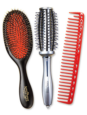 perfect hair brushes and combs