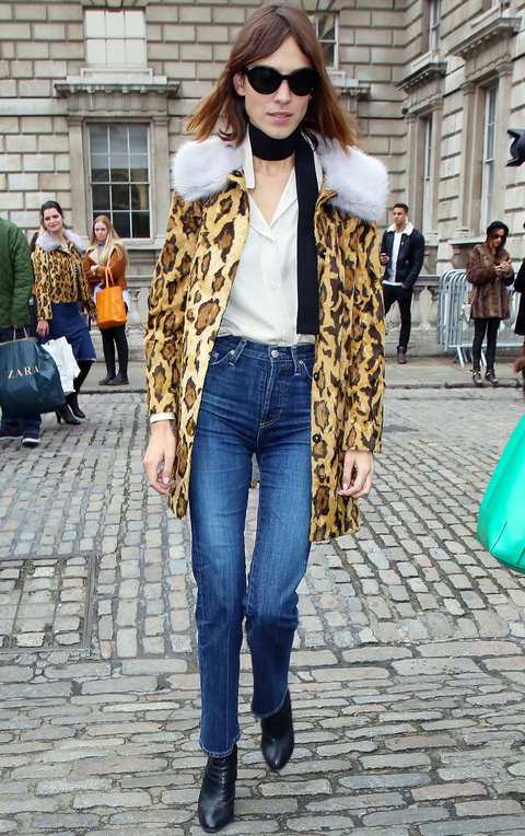 Celebrity Sightings On Day 1 Of London Fashion Week AW15 - February 20, 2015