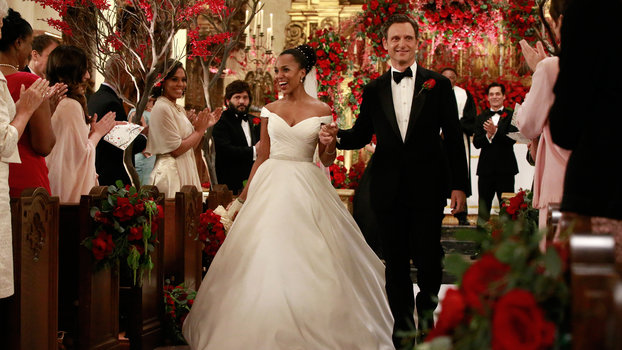 Olivia Pope Gets Married on Scandal in a 4500 Gown  InStylecom