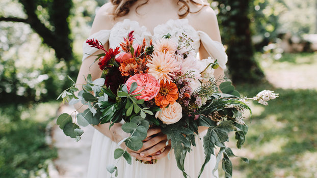 The Real Cost of Wedding Flowers  InStylecom
