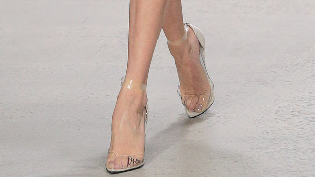 Clear Shoe Trend  InStylecom