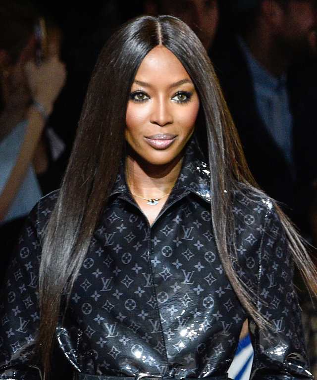 Naomi Campbell Instyle