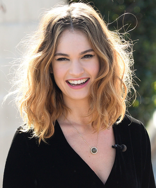 Lily James Instyle