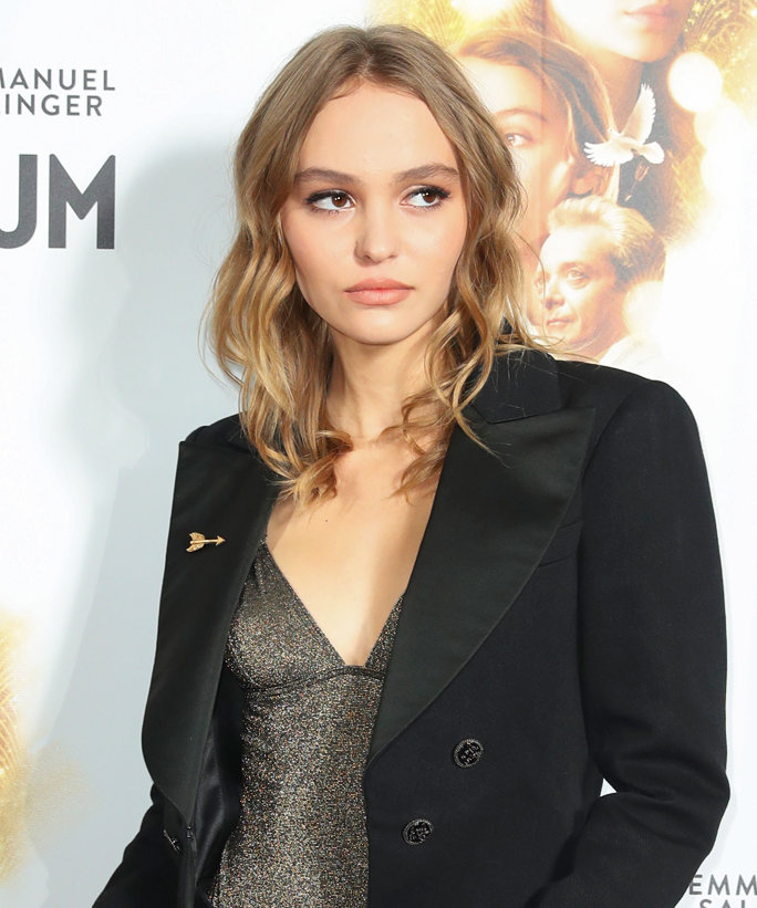 Lily Rose Depp Shuts Down A Paris Red Carpet In Chic