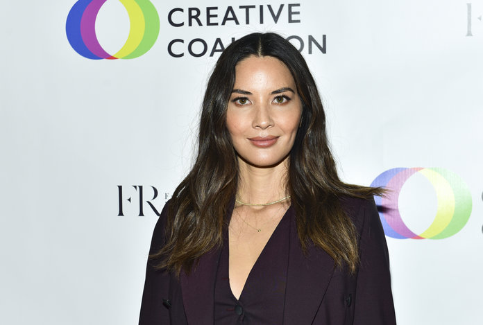 Olivia Munn Creative Coalition 2018 Spotlight Initiative Gala Awards Dinner