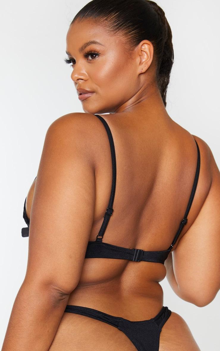 Plus Black Mix & Match Underwired Bikini Top $25.00 9