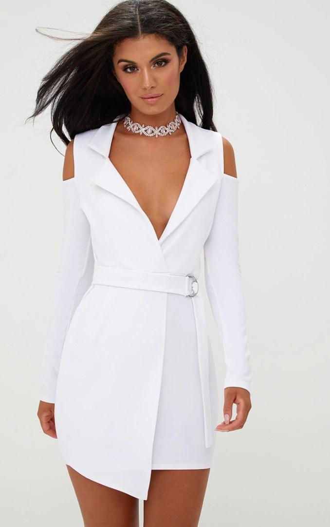 Image Result For Cold Shoulder Dress White