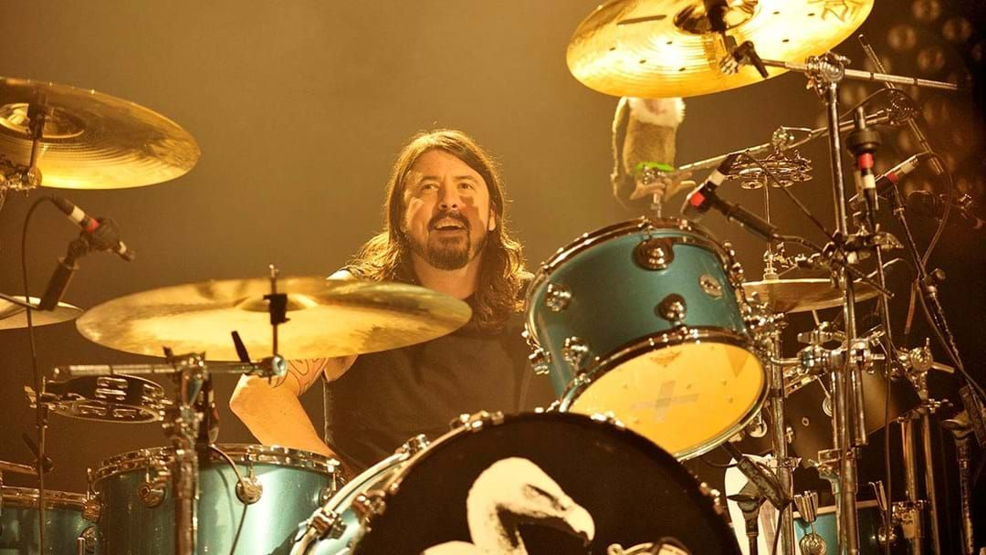 dave grohl s drumming in a new band