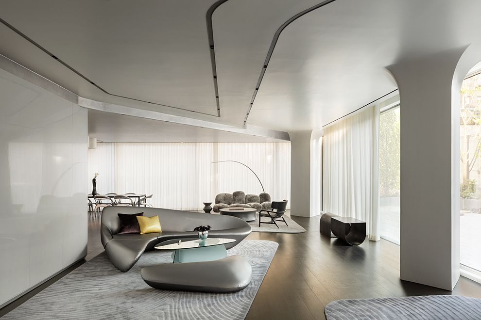 520 West 28th By Zaha Hadid At 520 West 28th St In West