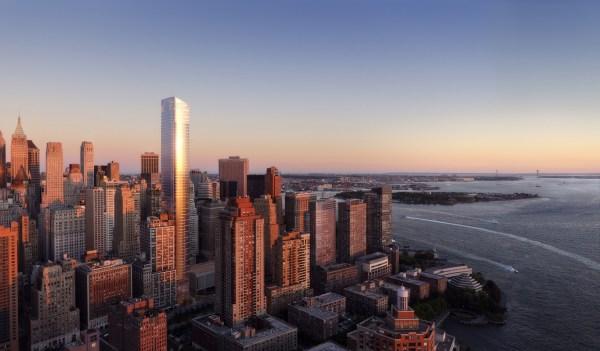50 West Street Lower Manhattan Skyline