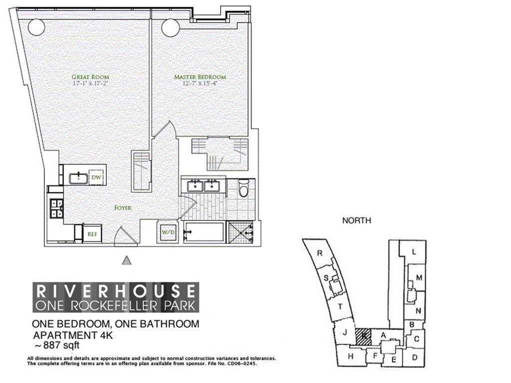 StreetEasy: Riverhouse, One Rockefeller Park at 2 River