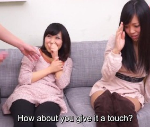 Preview 6 Of Subtitled Cfnm Japanese Friend Watches Surprise Blowjob
