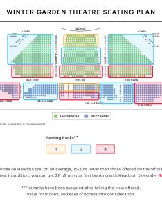 Winter garden theatre seating chart best seats pro tips and more also school of rock keninamas rh